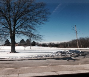 A lovely winter day at Avonworth High School