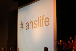 Student council launches #ahslife to keep keeps connected through twitter.