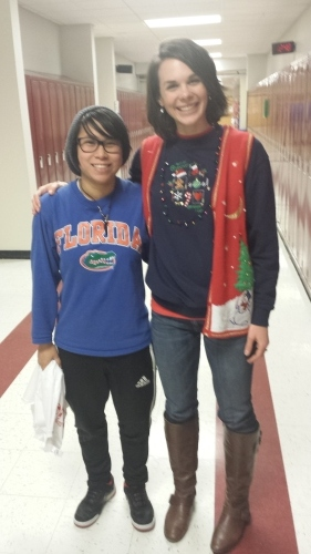 Mrs. Long Saves Christmas? Best Ugly Christmas Sweater
