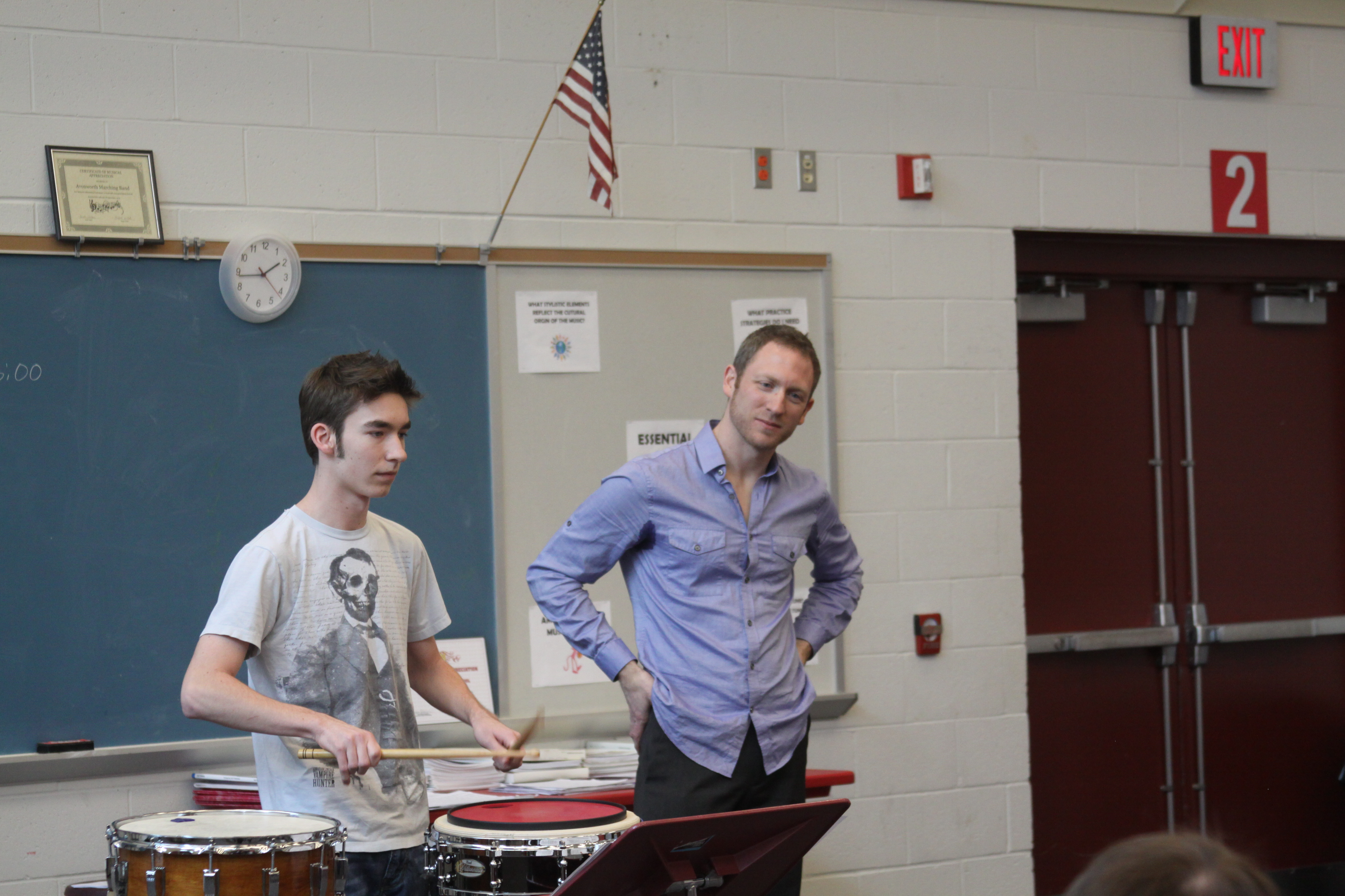 Loyalty to Mastery: Pittsburgh Orchestra Timpanist Gives Master Class