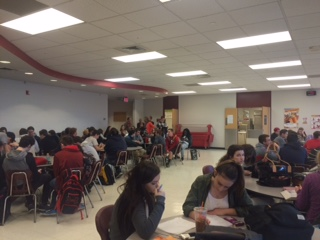 Surprise Ice Results in Delayed Teachers and Unscheduled Study Hall