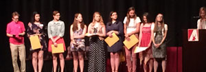 2016 Awards Assembly Coverage – By Anna Wager, Isabel Thompson, and Jessica Peters