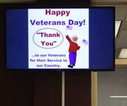 Veterans Day Celebrated With Speech and Quotes