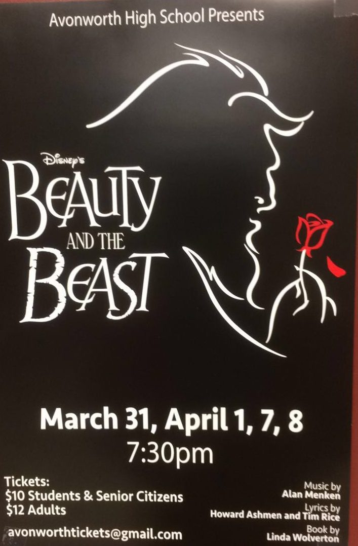 Beauty and the Beast Performed At AHS In Two Weeks