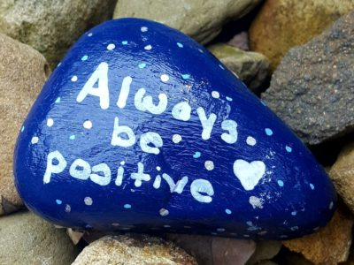 The New Service Learning Class is Already Making an Impact on Avonworth With Their First Project: Positivity Rocks