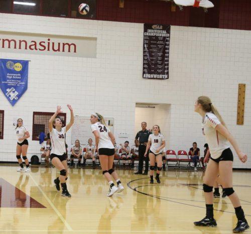 Girls Volleyball Team States Bound