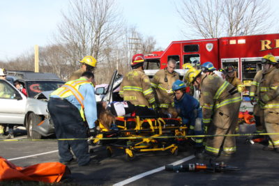 Mock Crash 2017: December Date Draws Student and Media Attention