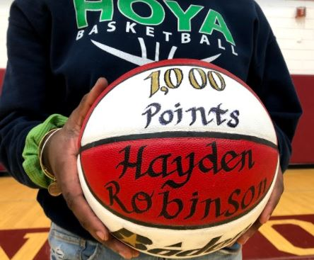 1000 Points By Junior Year! Hayden Robinson Reflects on Her Basketball Success
