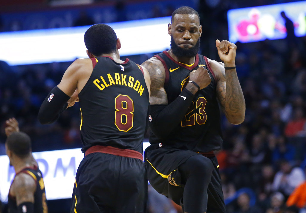 New Look Cavs Surging
