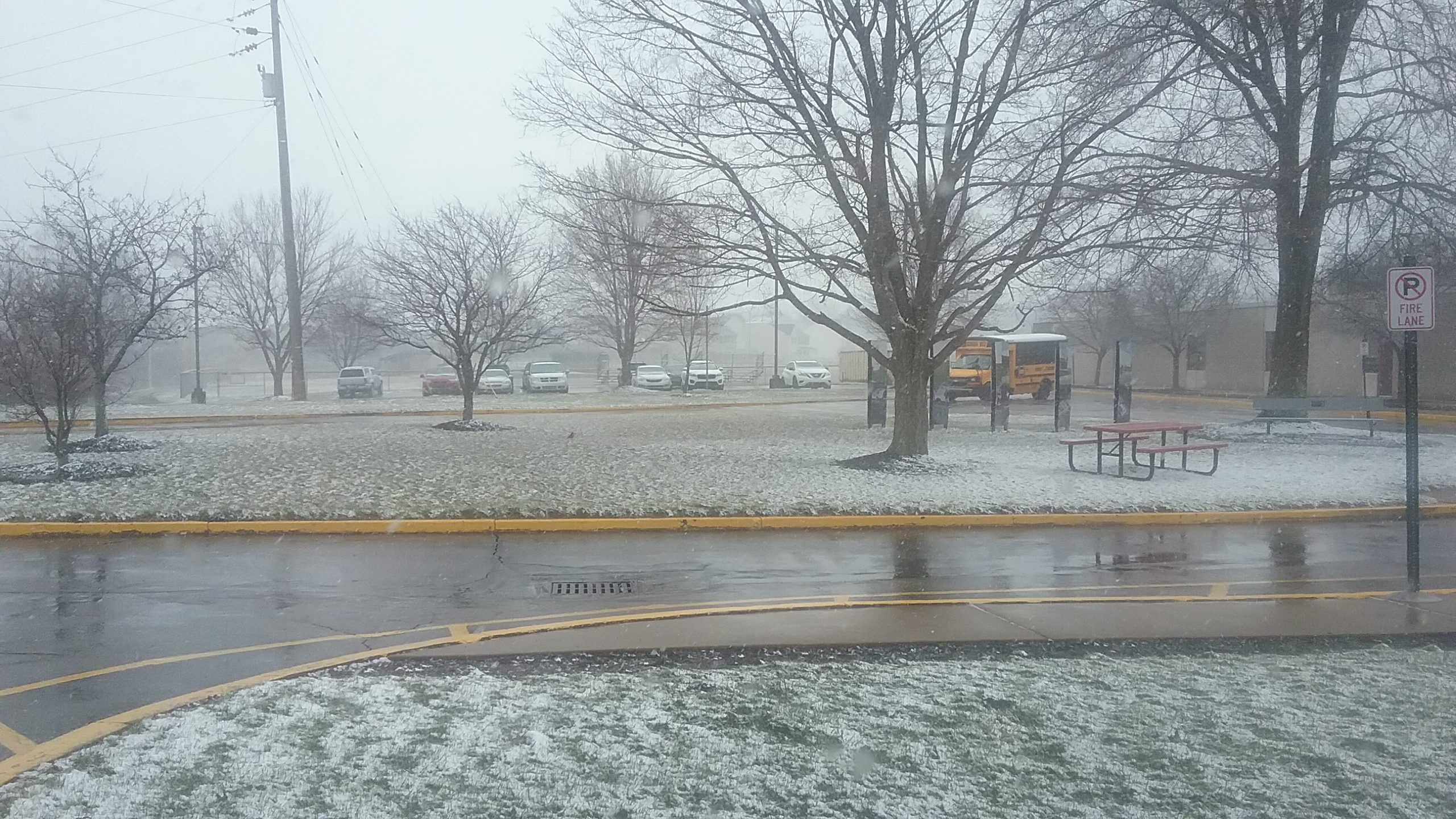 Spring Begins With Winter Storm, Cancellation, Students Keep Monday Off