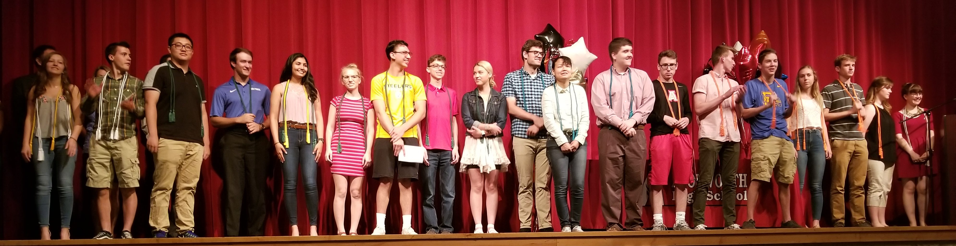 2018 High School Awards Assembly