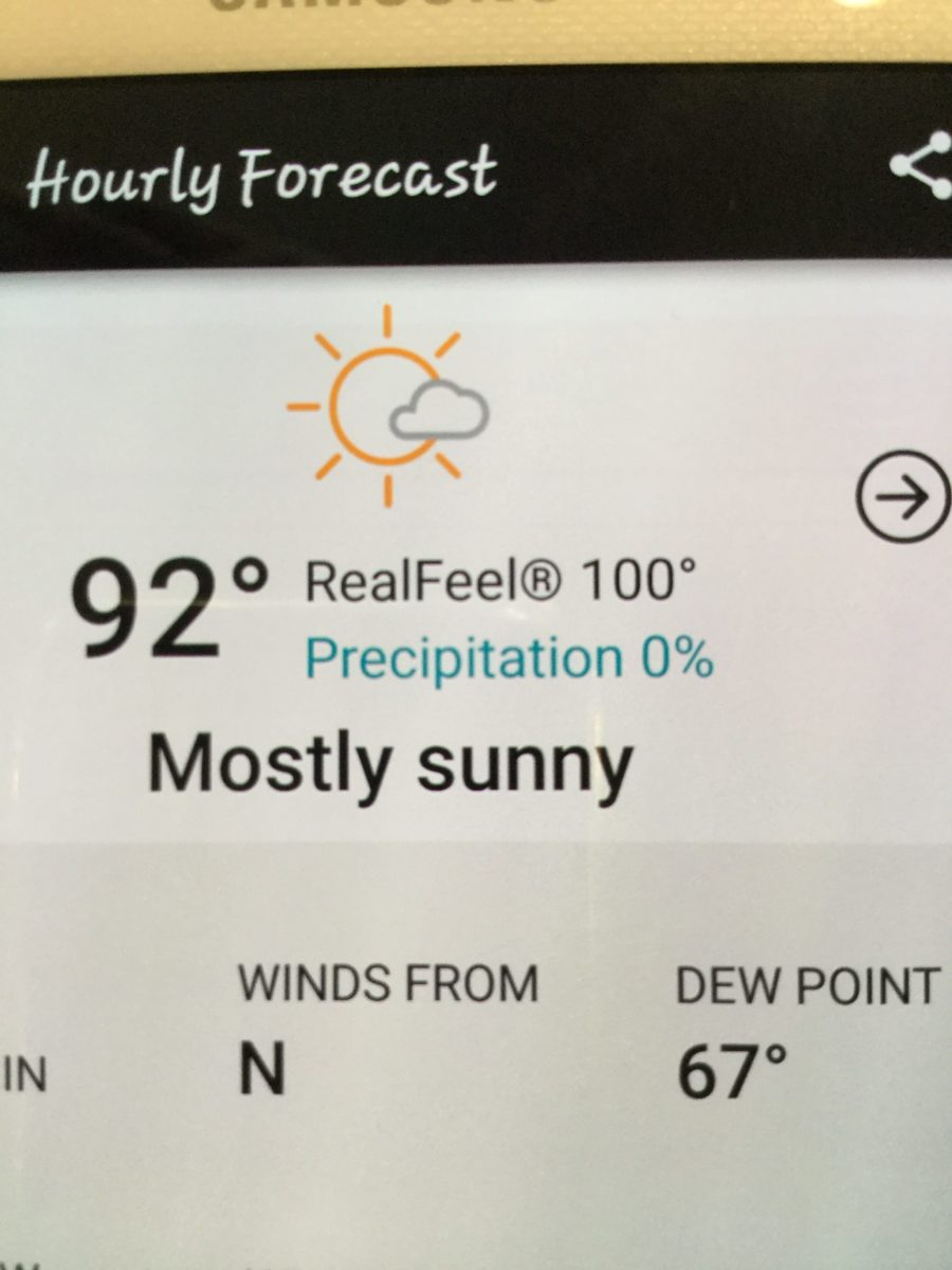 Near Record Heat After Labor Day
