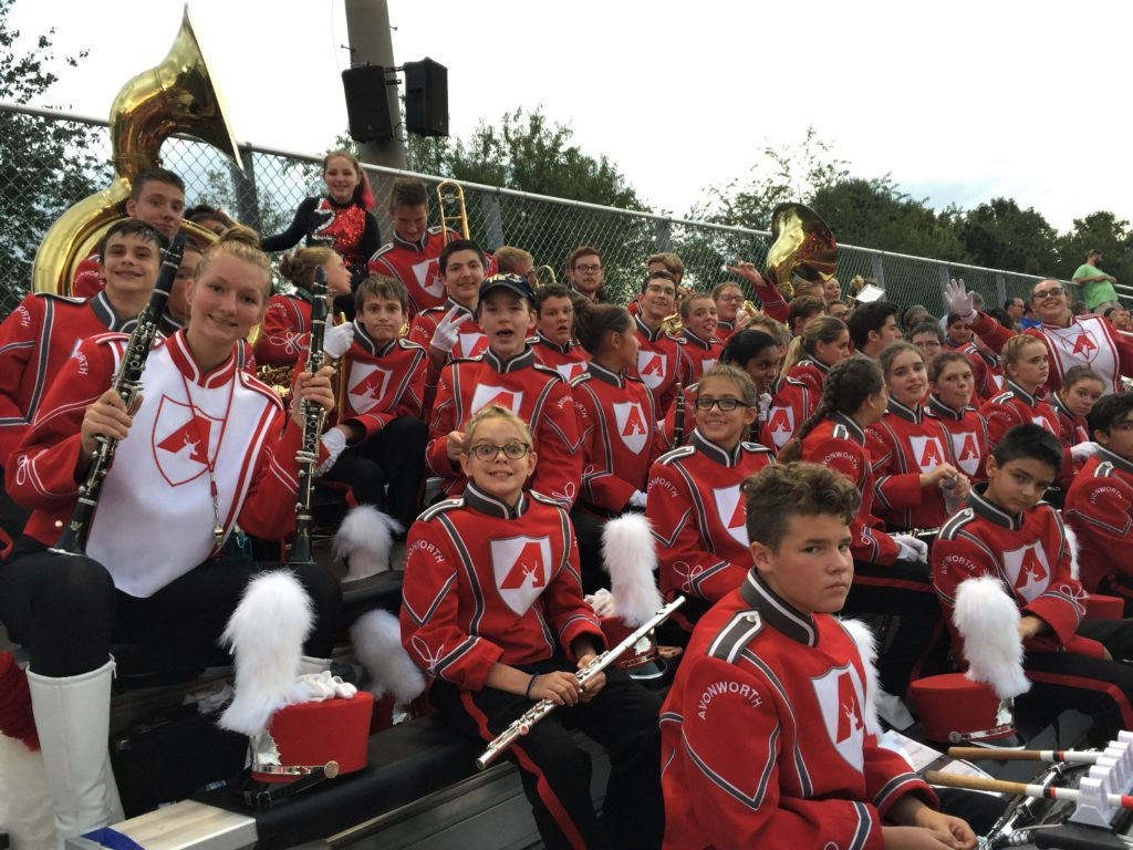 Band Pride @ Football Games