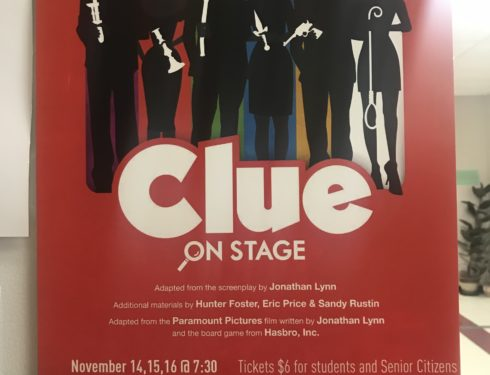 "Avonworth's Fall Play: ""Clue: On Stage"" opens rehearsal after ticket sell-out"