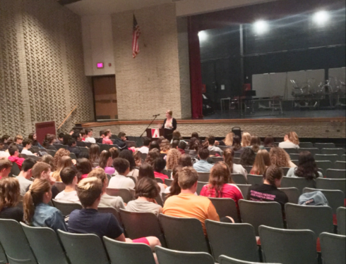 """Don't let bullies win ever – be the heroes and heroines"": 10th Grade Hears Holocaust Survivor Story In The Auditorium"