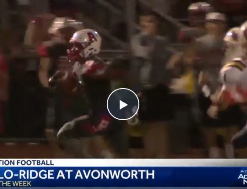 Football Team Featured on WTAE's Game of the Week