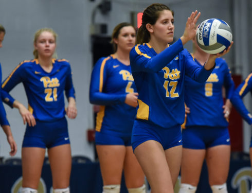 Pitt Women's College Volleyball Ranked Second in Nation, Highest in Program History
