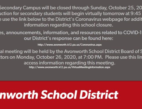 AHS Building Closes For Two Days Due to COVID, All Classes Go Virtual