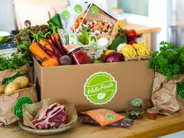 A box from Hello Fresh